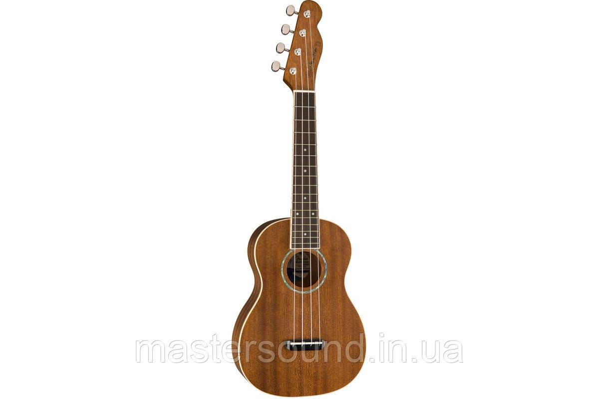 Укулеле Fender Ukulele Zuma Concert Natural WN