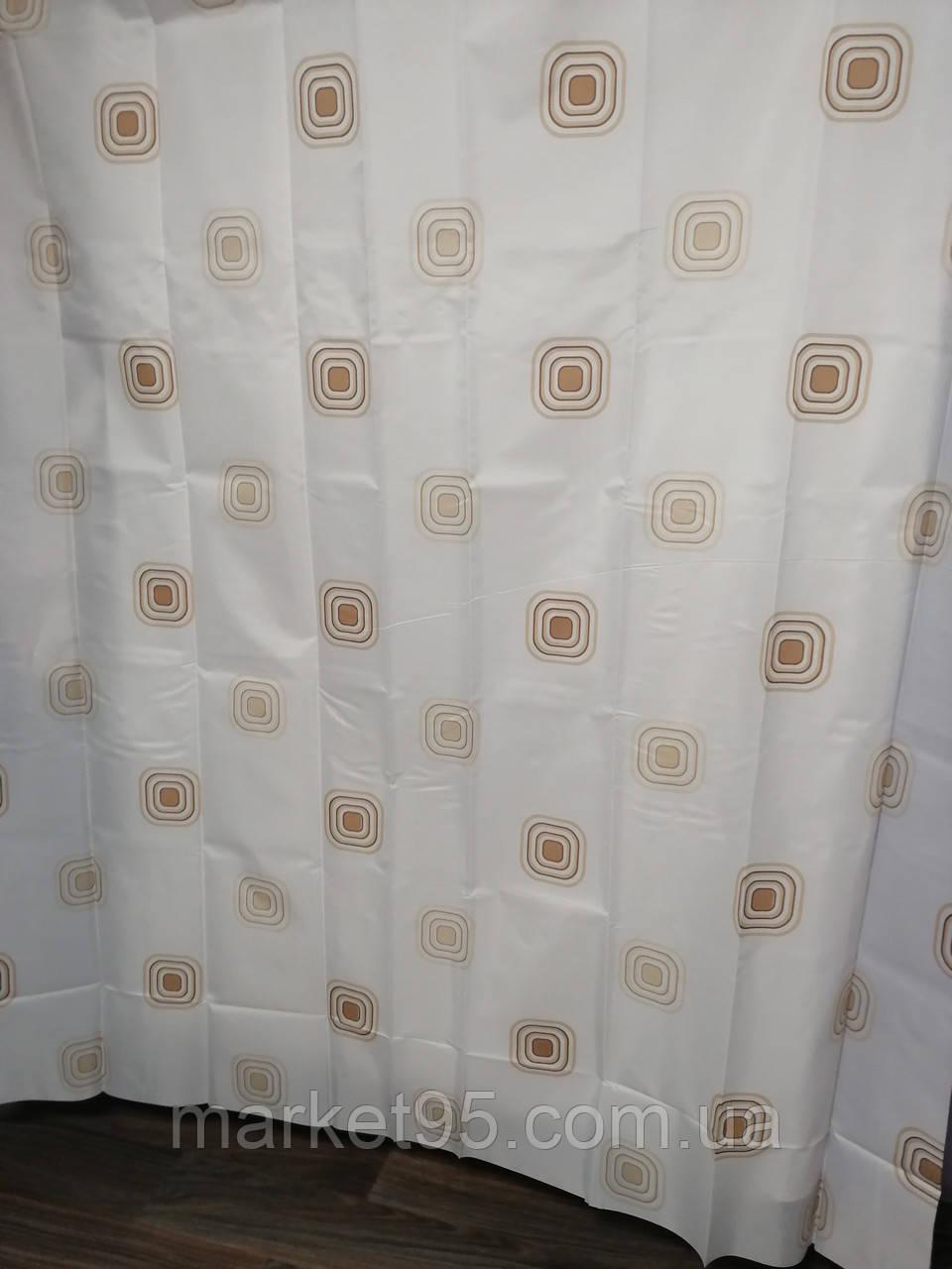 Штора для ванної душа Jackline тканинна 180х200см