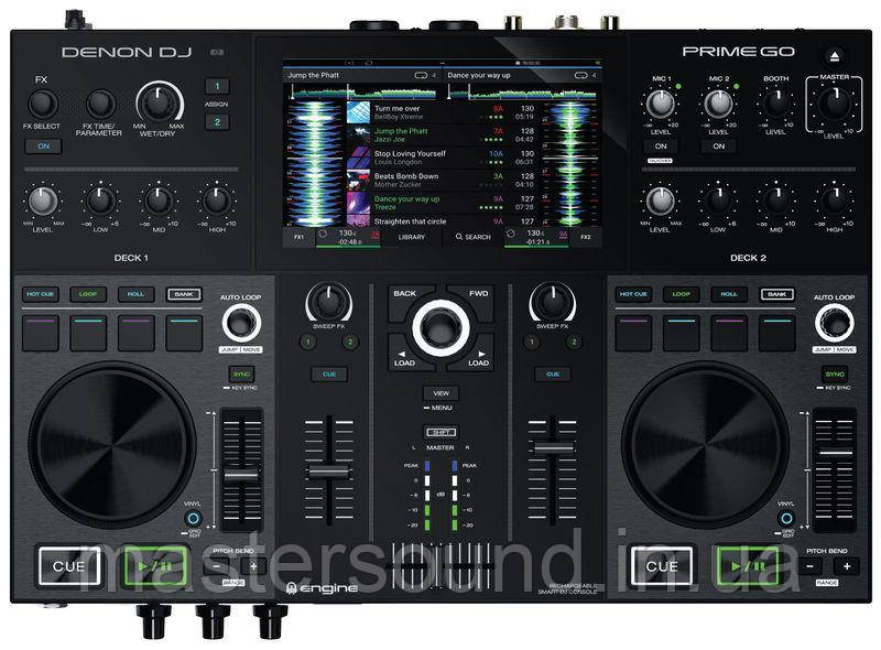 Dj контроллер Denon DJ PRIME GO