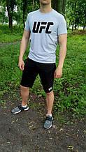 Чоловічий костюм футболка і шорти ЮФС, футболка і шорти UFC,брендовий,трикотаж