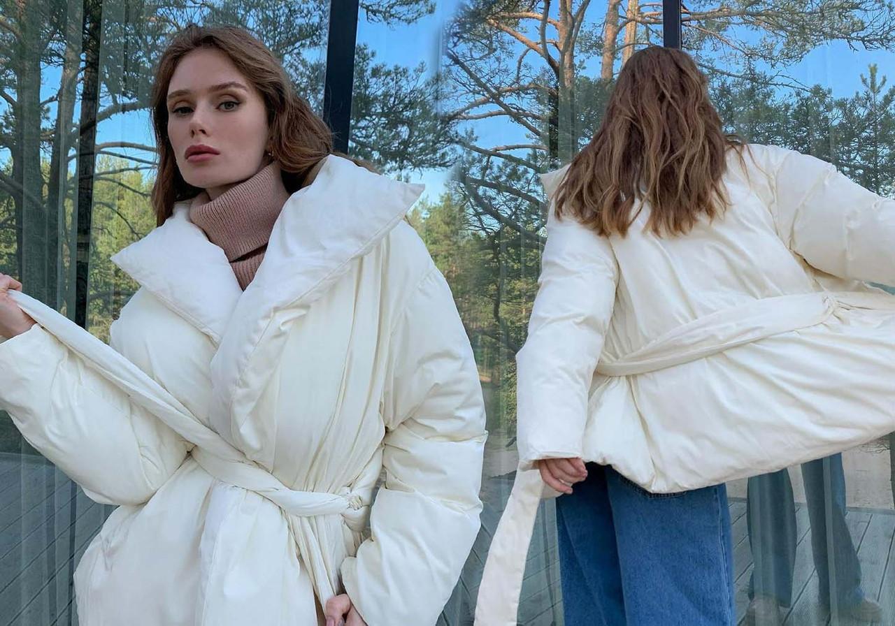 """Тёплая женская куртка """"Куртка Одеяло"""" в расцветках (249-319)"""