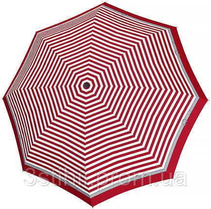 Зонт складной Doppler Carbonsteel 744865D03 автомат Красный кант, фото 2