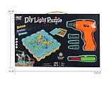"""Конструктор Tu Le Hui """"Diy Light Puzzle"""" на шурупах 200 деталей, фото 8"""