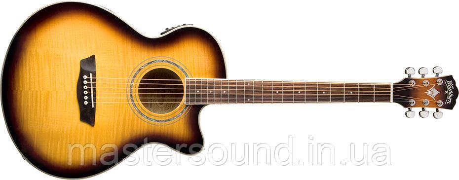 Электро-акустическая гитара Washburn EA15ATB