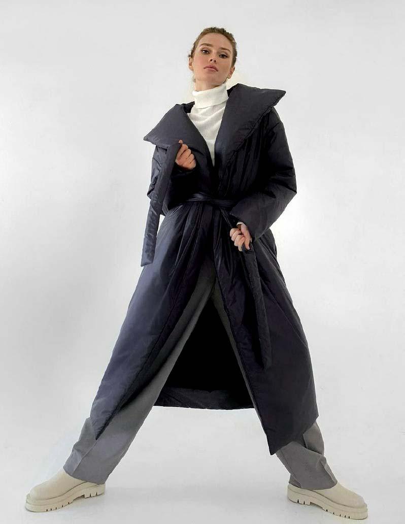 """Тёплое женское пальто """"Пальто Одеяло"""" в расцветках (249-318)"""