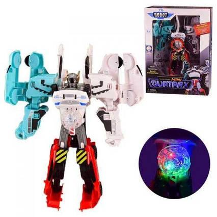 """Робот трансформер 4 в 1 """"Tobot. Мини Quatrax"""" 339-4С"""