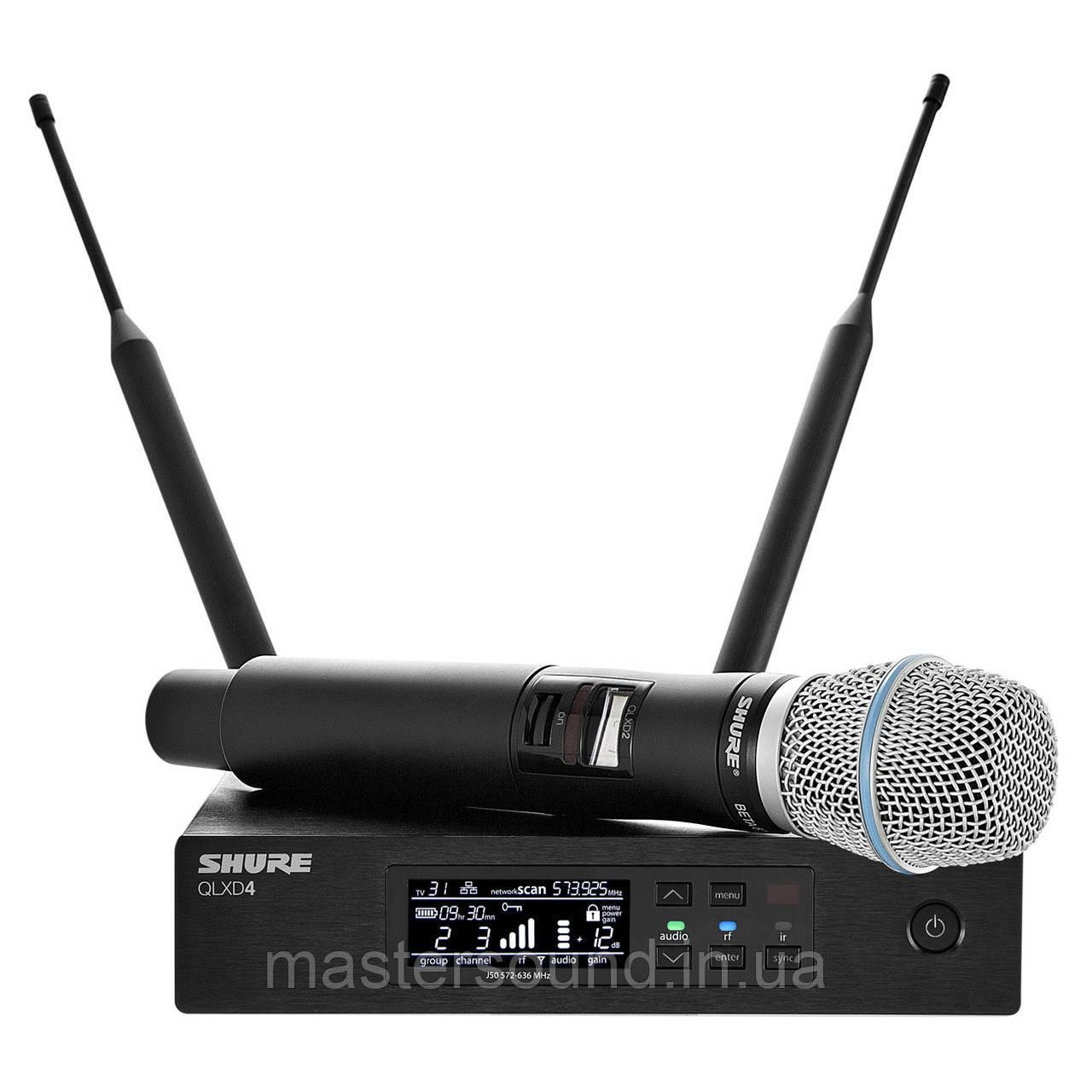 Цифровая радиосистема Shure QLXD24B87A