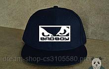 Мужская кепка снепбек Бед Бой, брендовая кепка Bad Boy