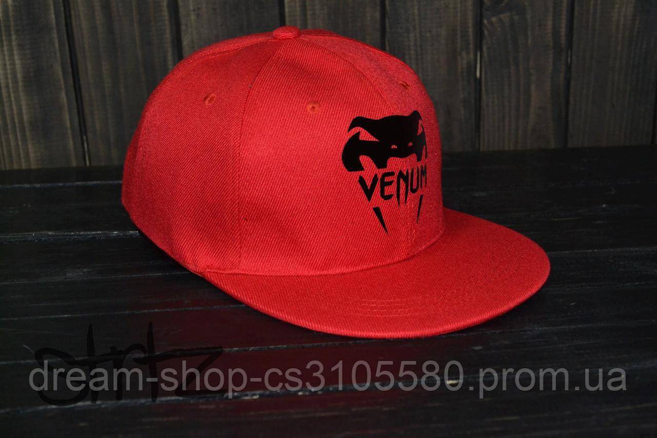Мужская кепка снепбек Венум, брендовая кепка Venum