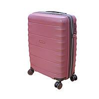 Маленький чемодан на колесах из полипропилена Airtex Newstar бордовый, фото 1