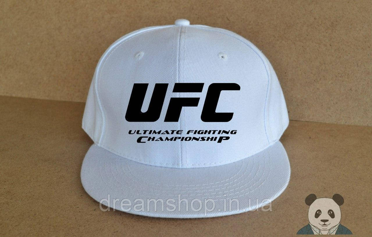 Мужская кепка снепбек ЮФС, брендовая кепка UFC