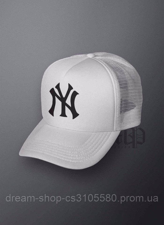 Мужская кепка из сеткой Нью Йорк, летняя кепка New York