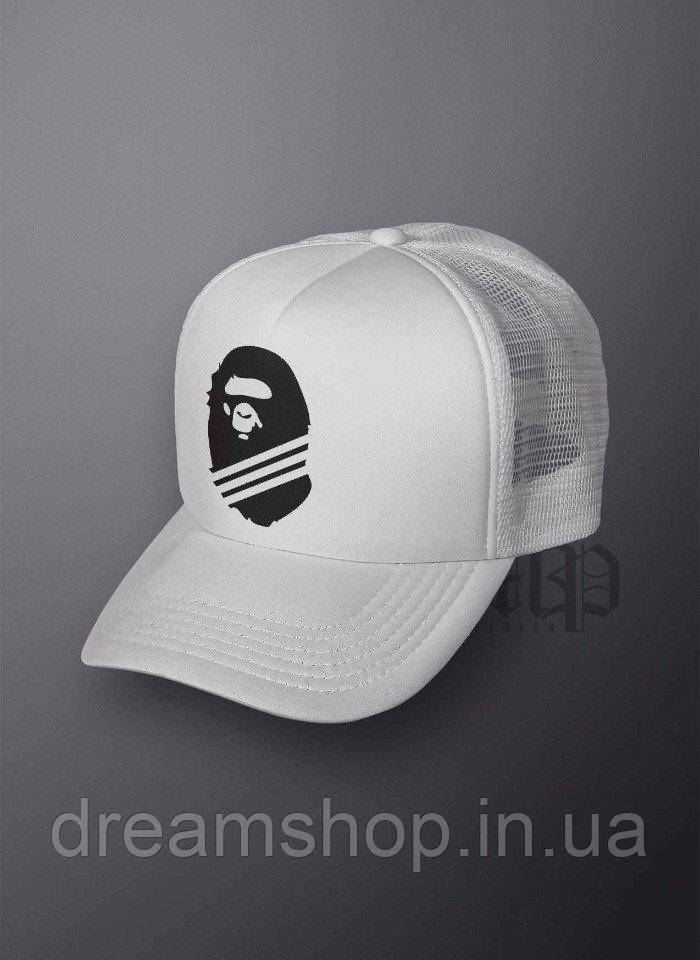 Мужская кепка из сеткой Бейп, летняя кепка Bape