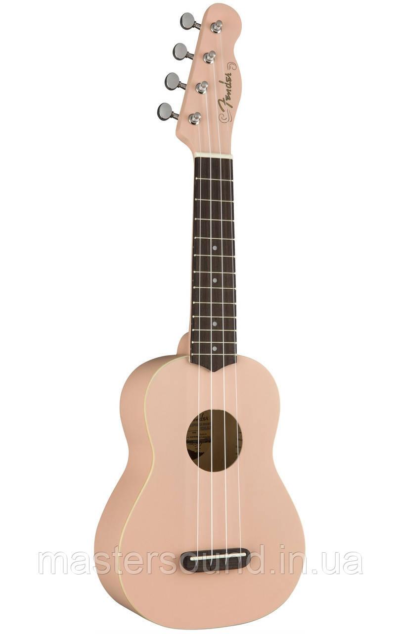 Укулеле Fender Ukulele Venice Soprano SHELL PINK WN