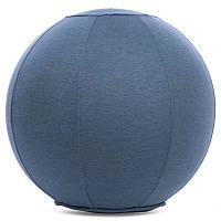 Мяч для фитнеса (фитбол) с чехлом 65см FI-1466, Мятный