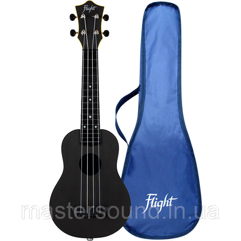 Укулеле Flight TUS-35E Electro-Acoustic Black Travel