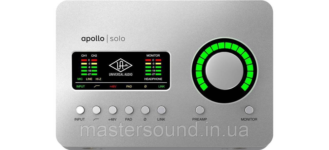 Аудио интерфейс Universal Audio Apollo Solo USB