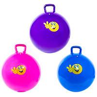 Детский надувной мяч фитбол 65см Iron Master IR97401C