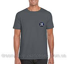 Трикотажная мужская футболка Нью Йорк, хлопковая футболка New York