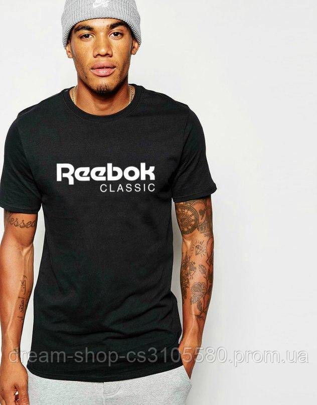 Чоловіча футболка Рібок, бавовна приємна до тіла S
