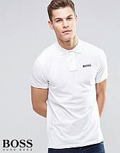 Чоловіче поло Бос, футболка з коміром Бос