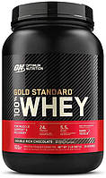 Сывороточный протеин изолят Optimum Nutrition 100% Whey Gold Standard 900 г double rich chocolate (OPT1224)