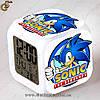 """Настольные часы Соник  - """"Sonic Clock"""" с подсветкой"""