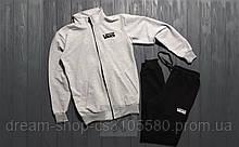 Мужской спортивный костюм олимпийка и штаны на манжете Ванс, спортивный костюм Vans