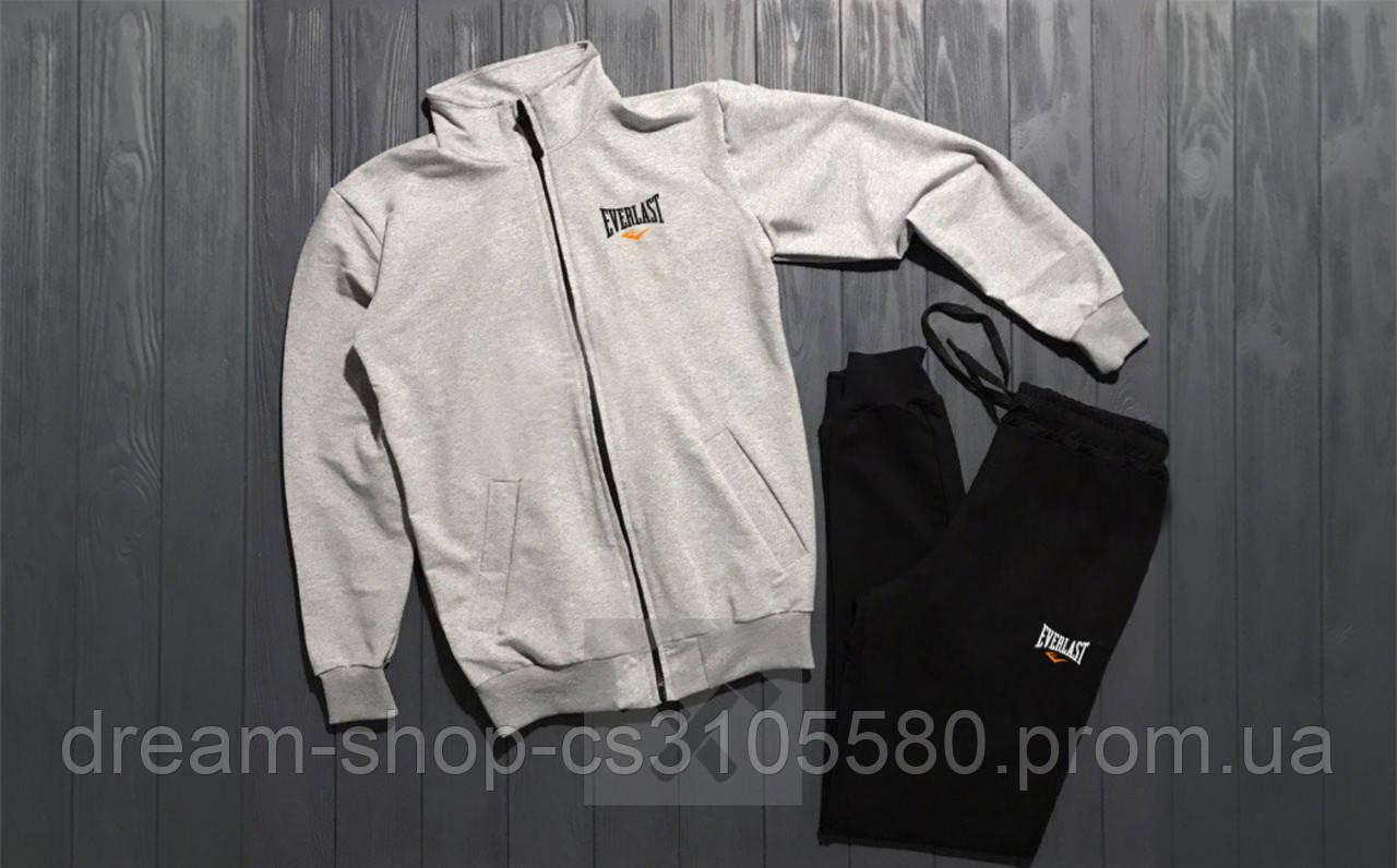 Мужской спортивный костюм олимпийка и штаны на манжете Еверласт, спортивный костюм Everlast XS