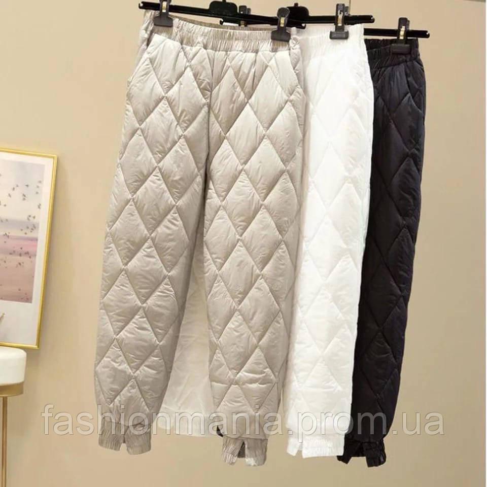 Штаны женские водоотталкивающие белый, чёрный, бежевый 42-44,44-46,46-48,48-50