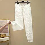 Штаны женские водоотталкивающие белый, чёрный, бежевый 42-44,44-46,46-48,48-50, фото 3