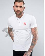 Чоловіче поло Рібок, футболка з коміром Рібок