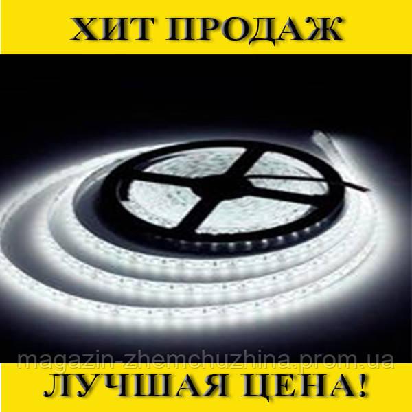 Светодиодная LED лента 3528 60RW белая с БЛОКОМ ПИТАНИЯ