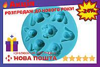 Молд силиконовый Empire - 100 мм, собаки