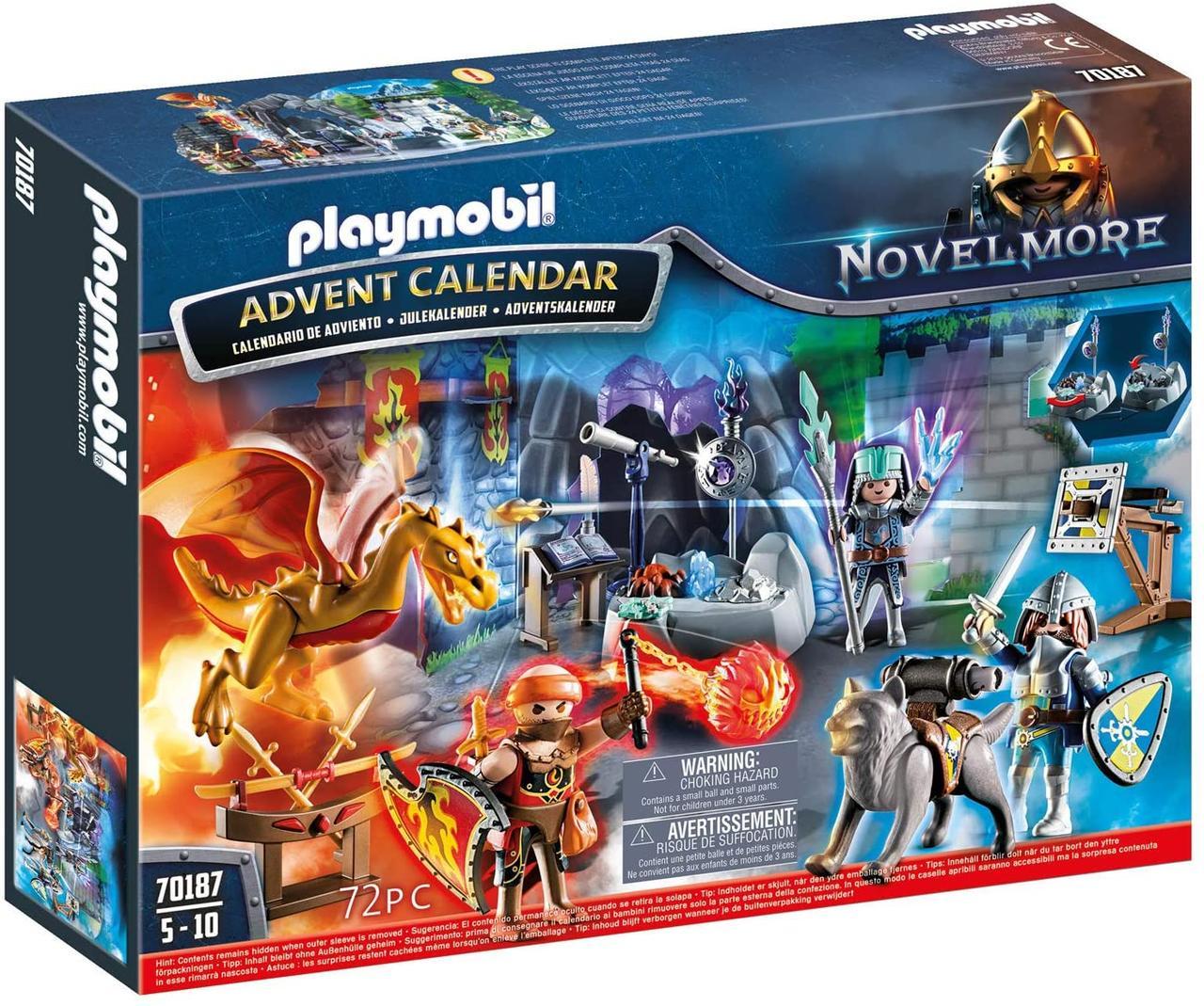 Playmobil Advent Calendar 70187 Плеймобил адвент календарь Битва за волшебный камень