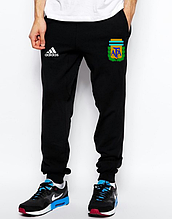 Чоловічі спортивні штани Адідас, трикотажні на манжеті