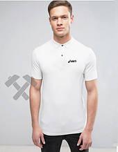 Чоловіче поло Асикс, футболка з коміром Асикс