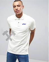 Чоловіче поло Асикс, поло теніска Asics, чоловіча футболка Асикс, Турецький бавовна, репліка
