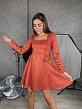 Платье женское замш, фото 2
