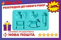 Молд силиконовый Empire - 123 x 70 мм, детский