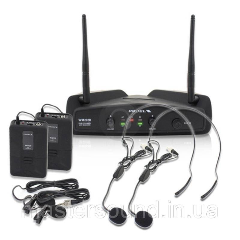 Радиосистема Proel WM202DH
