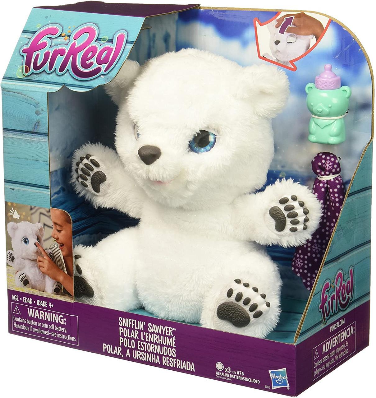 Интерактивная игрушка Hasbro Fur Real Friends Полярный Медвежонок Белый
