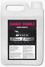 Рідина для бульбашок Disco Effect D-SB Sunday Bubble