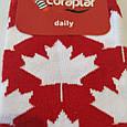 Носки высокие с принтом флаг Канады красные 37-43, фото 4