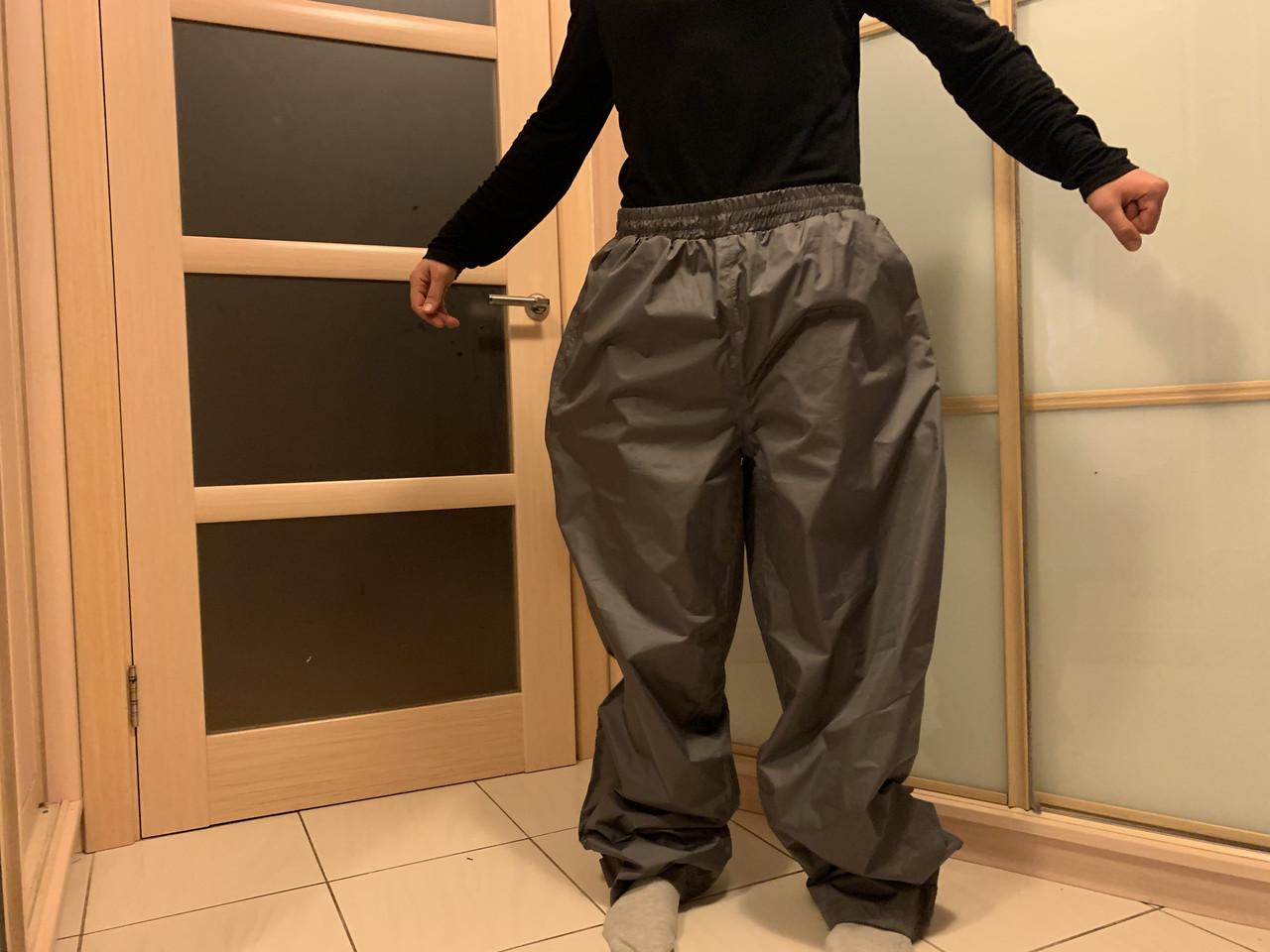 Дождевые мото штаны дождевик большой размер