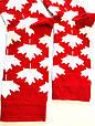 Носки высокие с принтом флаг Канады красные 37-43, фото 2