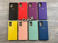 Чехол Soft touch на Samsung Galaxy Note 20  (8 цветов), фото 1