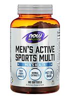 Now Men's Active Sports Multi 180 softgels