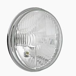 Фара головного світла Ø178мм Wesem RE.12413 ВАЗ 2101, Нива, КАМАЗ,ЗАЗ, Волга  з розсіювачем та габаритом