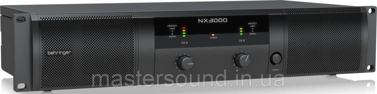 Усилитель мощности Behringer NX3000